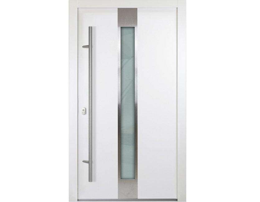 aluminium haust r wei anthrazitgrau modell aaron verschied ma e ebay. Black Bedroom Furniture Sets. Home Design Ideas