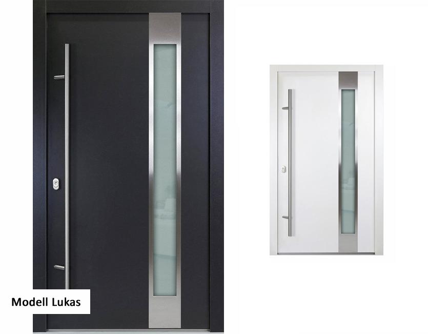 aluminium haust r anthrazit wei verschiedene modelle premium. Black Bedroom Furniture Sets. Home Design Ideas