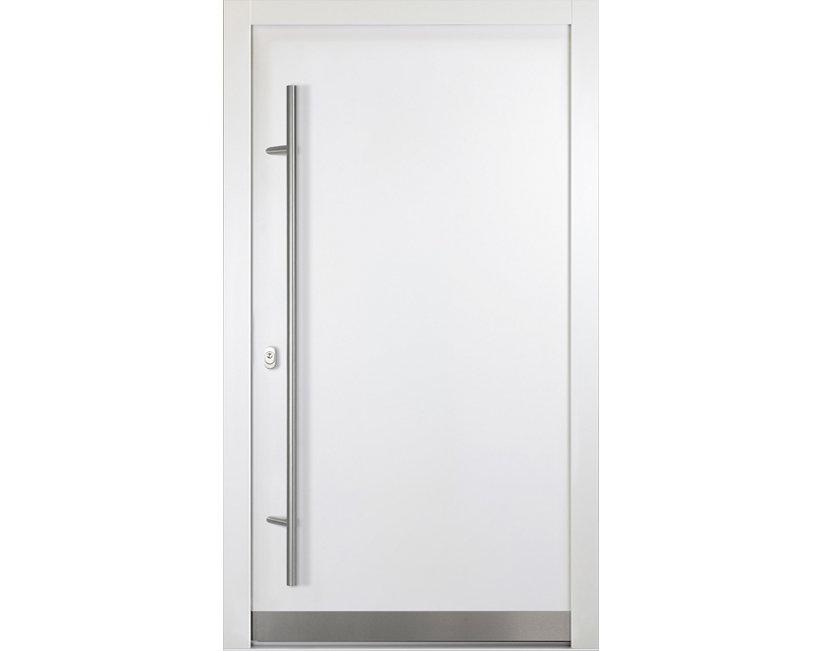 aluminium haust r modell theo t ren rahmen 92 mm wei anthrazit neu ebay. Black Bedroom Furniture Sets. Home Design Ideas