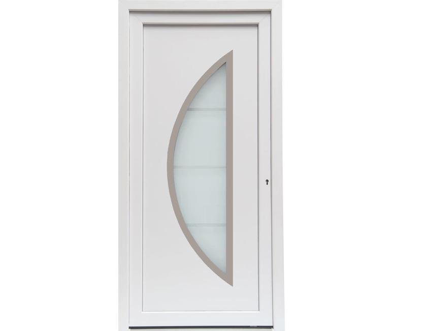 NebeneingangstUr Holz 5 Fach Verriegelung ~ Kunststoff HAUSTÜR Haustüren anthrazit Savona Türen Maß NEU