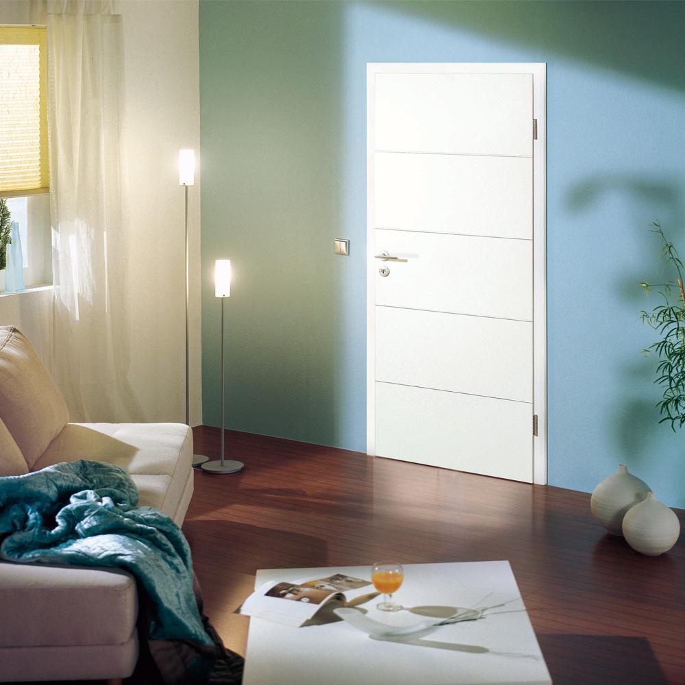 kuporta zimmert r wei lack pi m wei innent ren t rblatt mit zarge rsp ebay. Black Bedroom Furniture Sets. Home Design Ideas