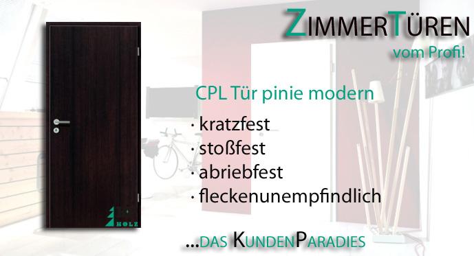 Zimmertür modern  CPL Zimmertür Tür Türen Innentüren Pinie Modern | eBay