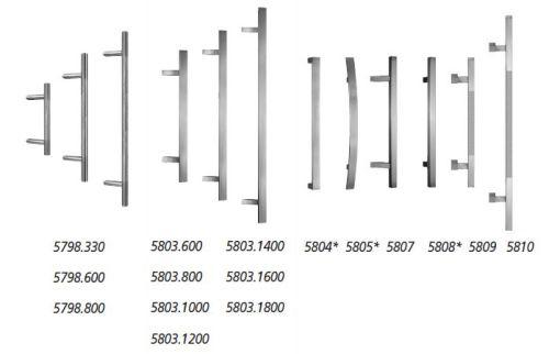 aluminium haust r haust ren t r nach ma modell 5405 ebay. Black Bedroom Furniture Sets. Home Design Ideas