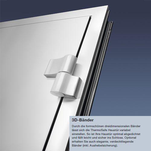 h rmann aluminium haust r haust ren 40 ts t r mit innendr cker griff zylinder ebay. Black Bedroom Furniture Sets. Home Design Ideas