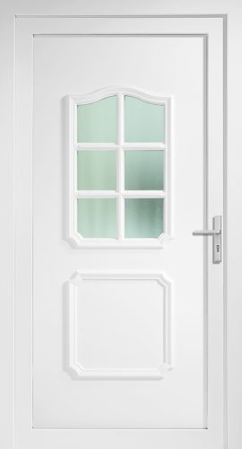 aluminium haust r haust ren t r t ren arnsbach neu wei eingangst r alu ebay. Black Bedroom Furniture Sets. Home Design Ideas