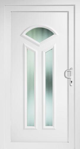 aluminium haust r haust ren t r t ren singlis eingangst r wei alu neu ebay. Black Bedroom Furniture Sets. Home Design Ideas