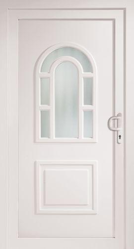 kunststoff haust r haust ren athen t r t ren neu wei eingangst r ebay. Black Bedroom Furniture Sets. Home Design Ideas