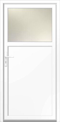 kunststoff mehrzweck nebent r kiel wei nebeneingangst r neu ebay. Black Bedroom Furniture Sets. Home Design Ideas