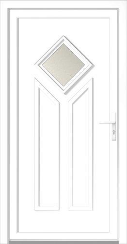 kunststoff haust r haust ren oberm llrich t ren t r neu ebay. Black Bedroom Furniture Sets. Home Design Ideas