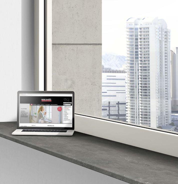 Musterfächer Farbfächer für WERZALIT Fensterbank Compact 8 ...