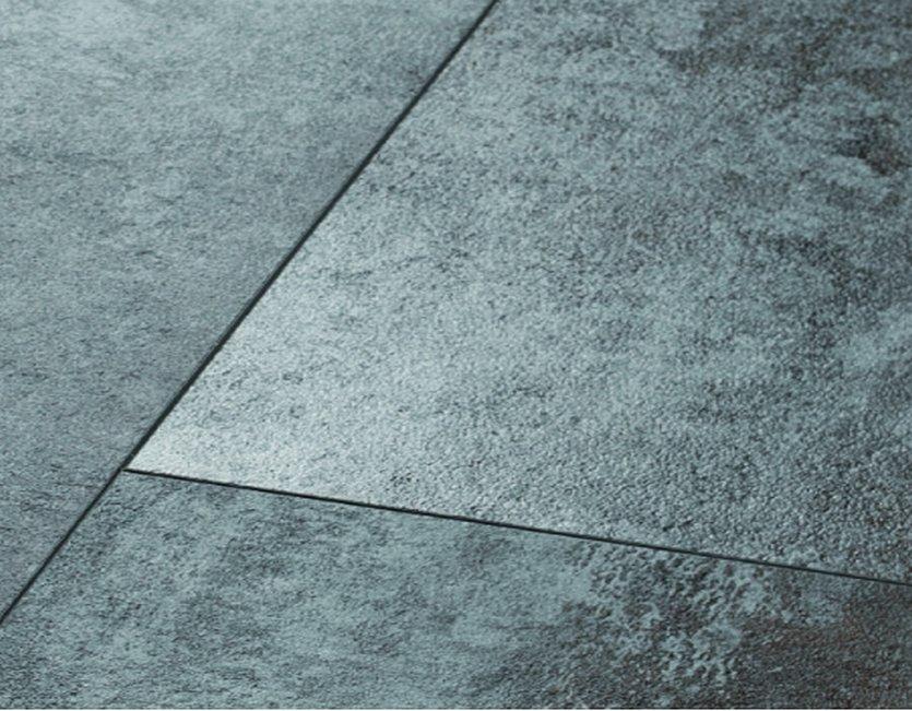 vinylanplus fu boden silver metallic klick vinyl. Black Bedroom Furniture Sets. Home Design Ideas