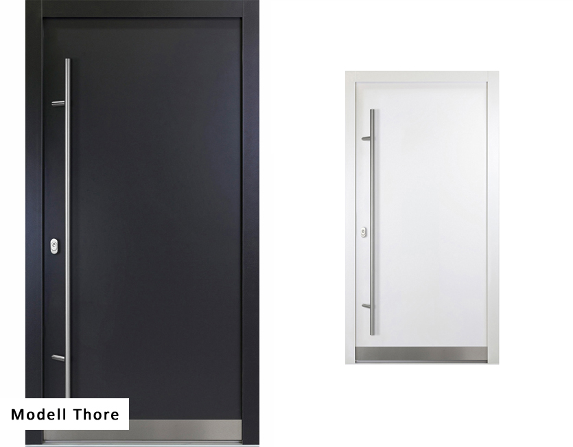 aluminium haust r anthrazit wei verschiedene modelle premium ebay. Black Bedroom Furniture Sets. Home Design Ideas