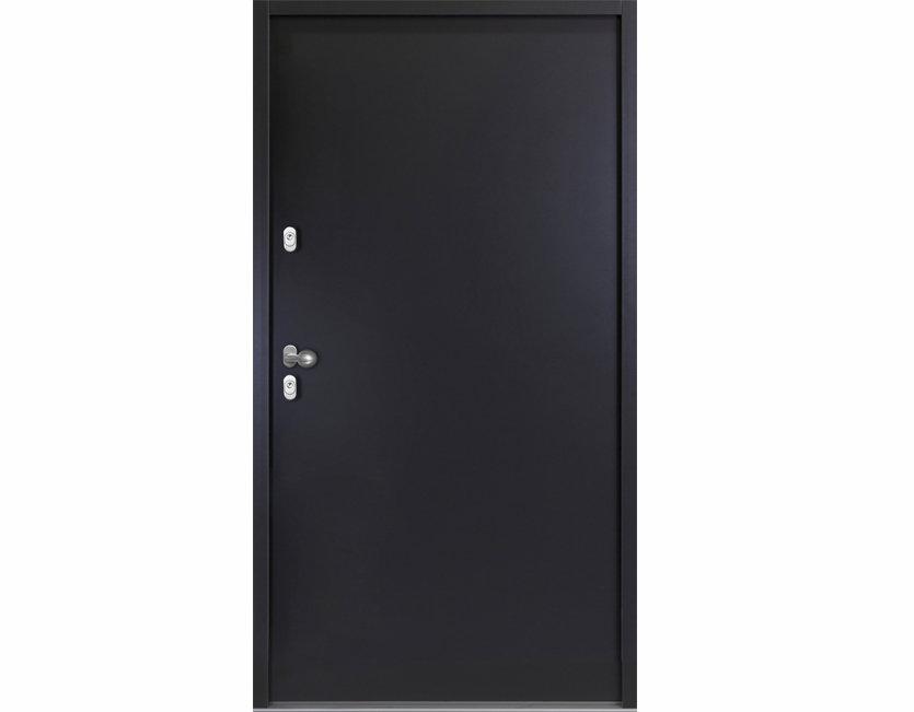 Aluminium KELLERTÜR Weiß / Anthrazitgrau | Haustür Nebeneingangstür  Wohnungstür | EBay