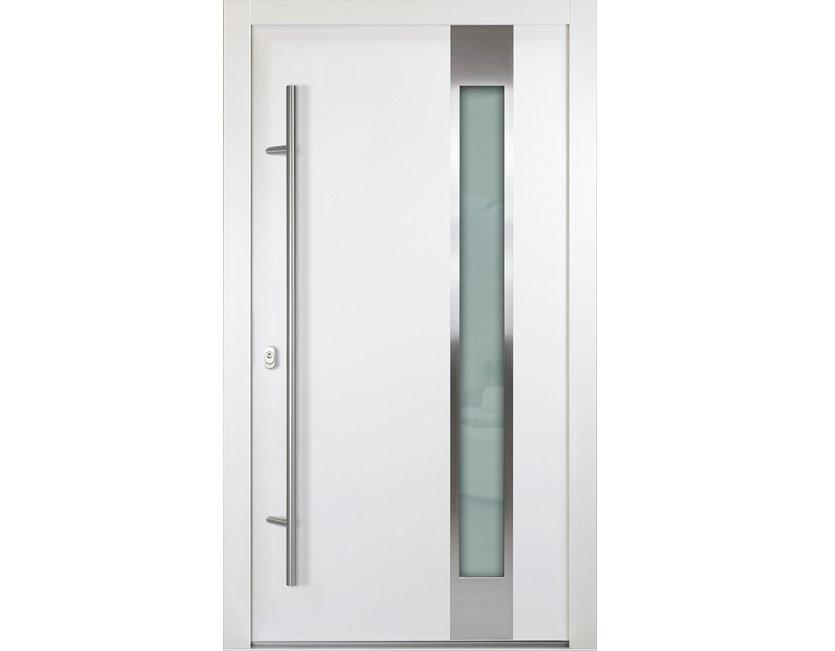 aluminium haust r wei anthrazitgrau modell henri verschied ma e ebay. Black Bedroom Furniture Sets. Home Design Ideas