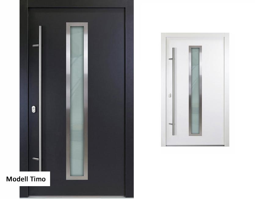 aluminium haust r wei anthrazitgrau modell enno verschied ma e ebay. Black Bedroom Furniture Sets. Home Design Ideas