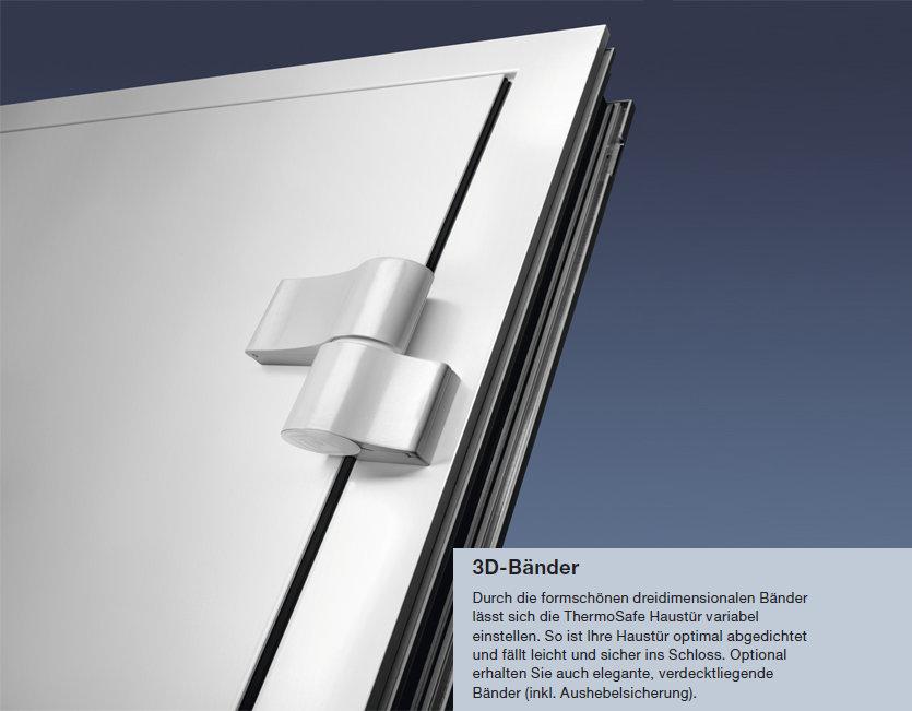 Details zu HÖRMANN Aluminium Haustür Haustüren 554 TS Tür mit  Innendrücker/Griff/Zylinder