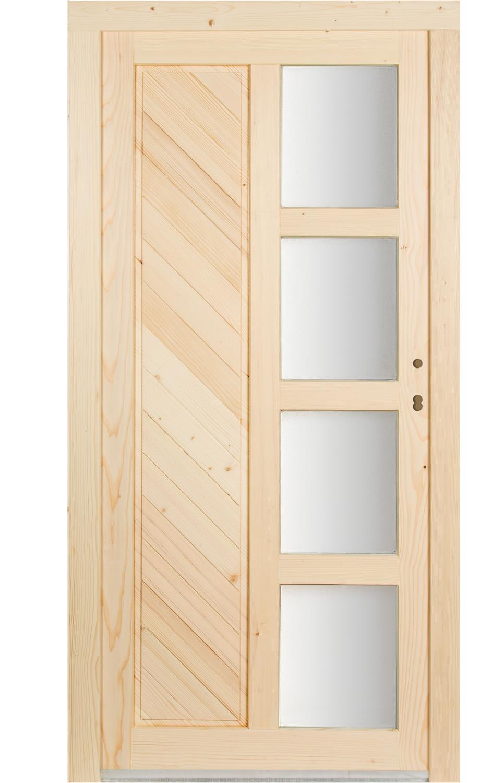 holz mehrzweckt r mzt 2 garagent r nebeneingangst r haust r mit rahmen ebay. Black Bedroom Furniture Sets. Home Design Ideas