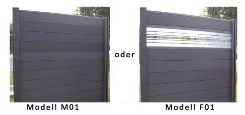 wpc bpc sichtschutzzaun sichtschutz zaun gartenzaun inkl pfosten terrasso neu ebay. Black Bedroom Furniture Sets. Home Design Ideas